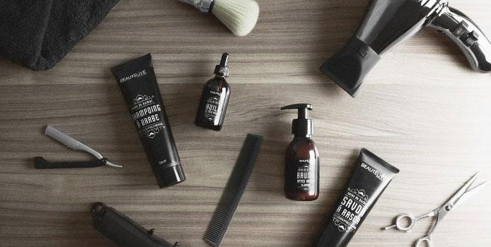 Messieurs, découvrez la gamme de produits Beautélive spécialement créée pour vous !