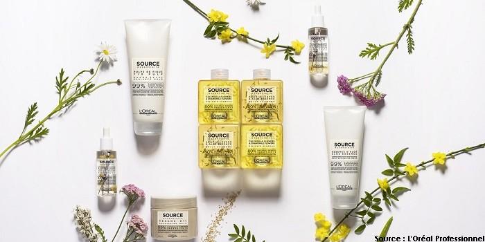 Source Essentielle : une nouvelle gamme naturelle et végane chez L'Oréal Professionnel