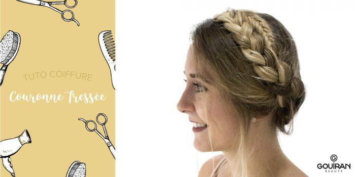 Tuto coiffure : Comment réaliser une couronne tressée ?