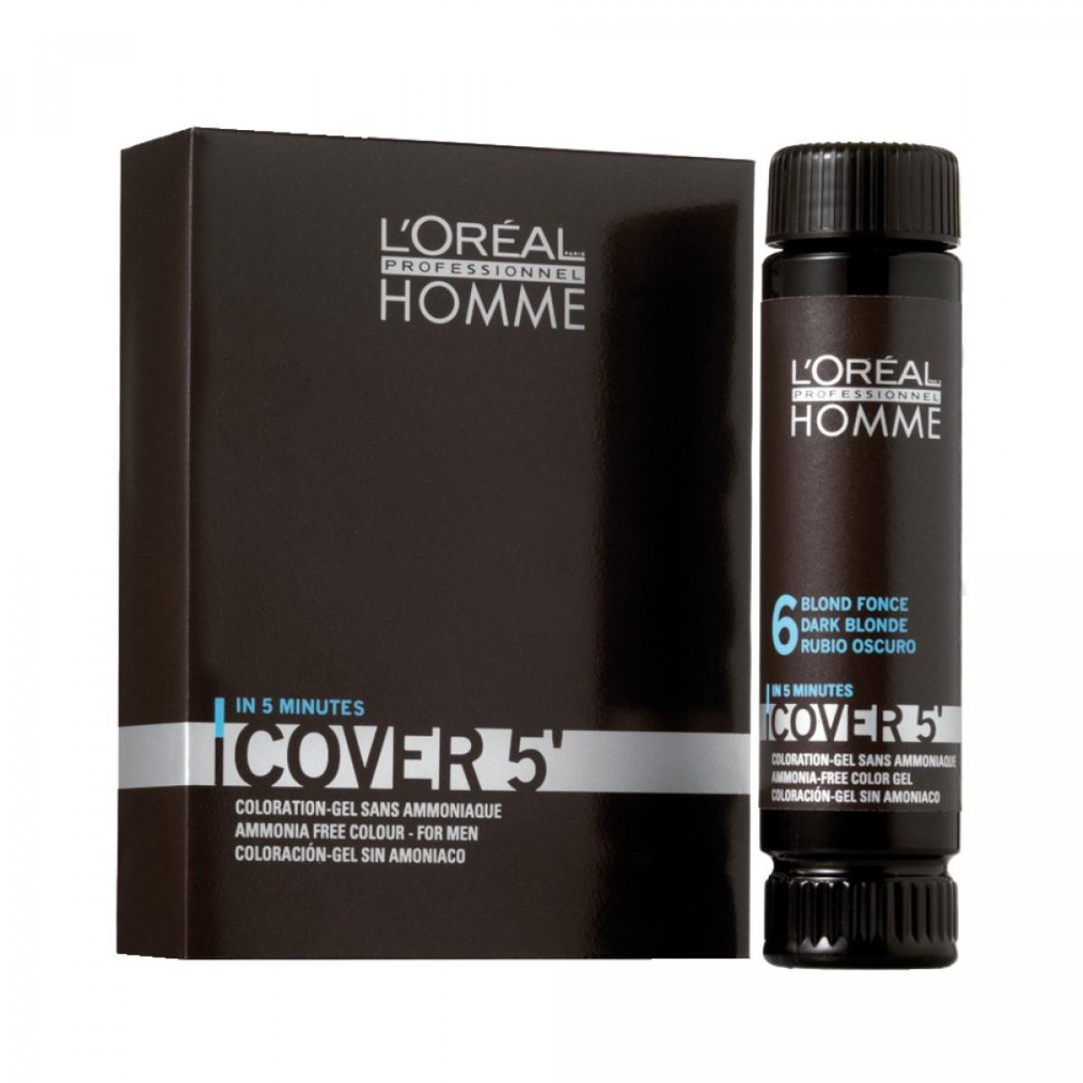 coloration gel pour homme sans ammoniaque 50ml cover5 - Coloration Sans Ammoniaque Professionnelle