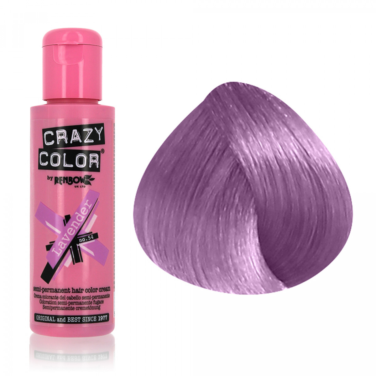 coloration semi permanente renbow crazy color 100ml gouiran beaut particulier - Coloration Violet Permanente