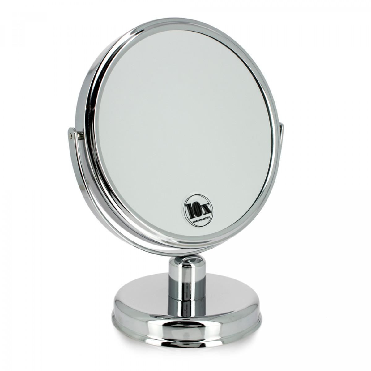 Miroir double face grossissant x10 altesse gouiran beaut particulier for Miroir grossissant x10