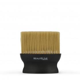 Balai cou large Barber Noir