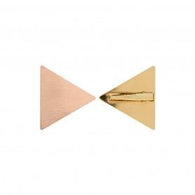 Barrette triangle x2 - Pretty Final Touch
