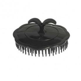 Brosse ronde plate massage