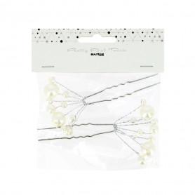 Épingle mariée bouquet de perles x2 - Pretty Final Touch