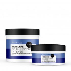 Masque déjaunisseur - Beautélive Expert, Silver + - Blonds et décolorés, Gris/blancs