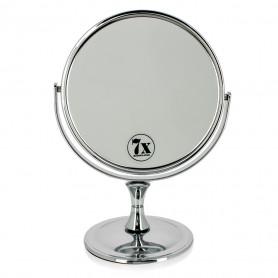 Miroir Grossissant X7 Double face chrome