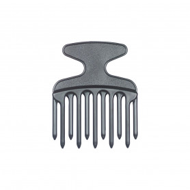 Peigne Afro plastique Dents Doubles - Bouclés et indisciplinés