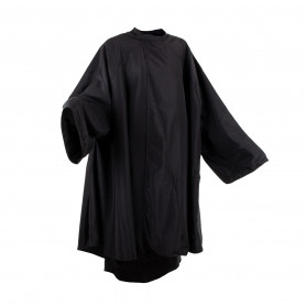 Peignoir Polyester Noir avec manches Brighton