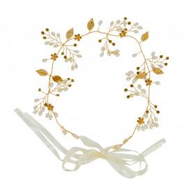 Headband mariée avec perles