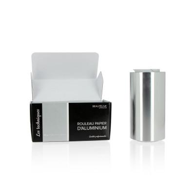 Papier aluminium mèches 15 microns, 12cmx100m