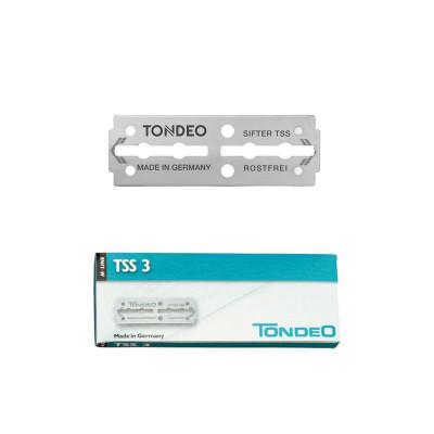 Étui de 10 lames pour rasoir TSS3 inox