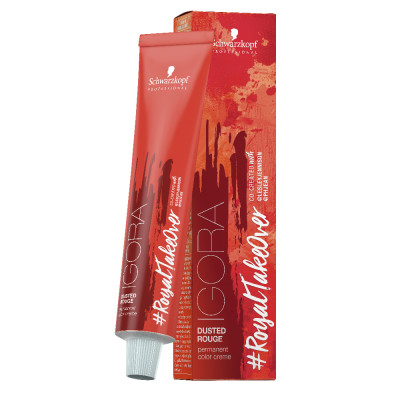 Coloration permanente Dusted Rouge - 60ml - Igora Royal Take Over