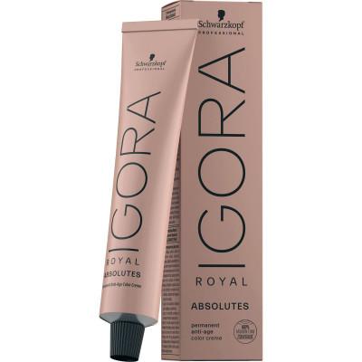 Coloration permanente anti-âge - 60ml - Igora Royal Absolutes