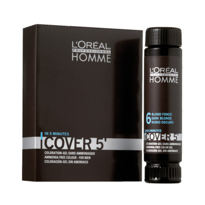 Coloration gel pour homme sans ammoniaque - 50ml - Cover'5