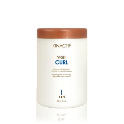 Masque hydratant Curl - 900ml - Kinactif - Bouclés et indisciplinés