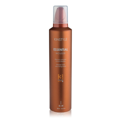 Mousse volume fixation flexible, Essential Mousse - 300ml - Kinstyle - Volume