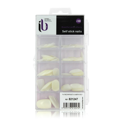 Faux ongles nymphea boite tailles assorties x100