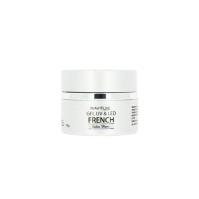 Gel UV & LED Blanc pour French Manucure - 15g