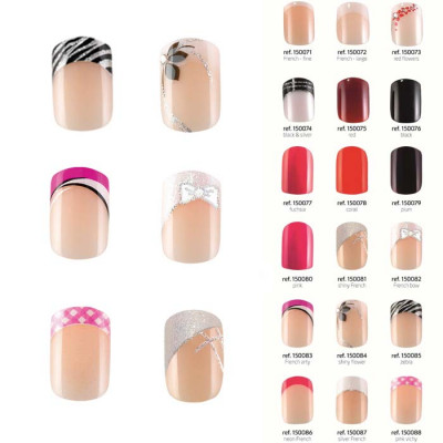 Kit 24 faux ongles main - Idyllic Nails