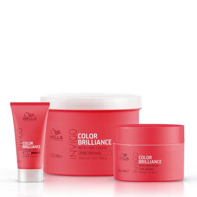 Masque Color Brilliance cheveux épais - Invigo - Colorés