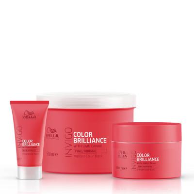 Masque Color Brilliance cheveux fins - Invigo - Colorés et méchés