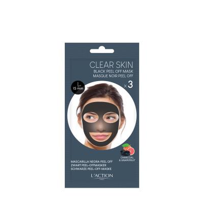 Masque noir au charbon peel-off - 12g