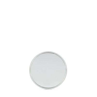 Miroir d'appoint avec ventouse 7.5cm chromé x12