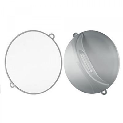 Miroir coiffure rond extra plat