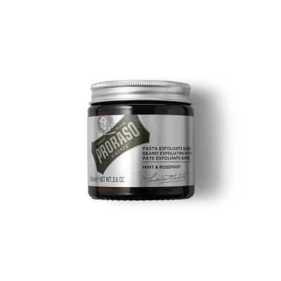 Pâte exfoliante pour barbe menthe & romarin - 100g