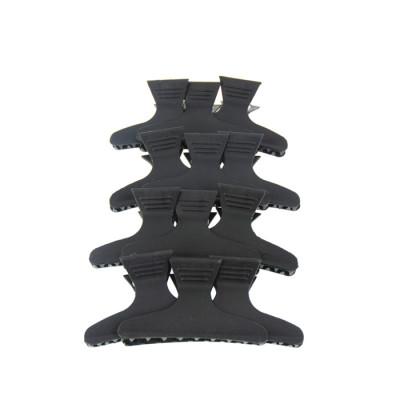 Lot de 12 pinces croco noire