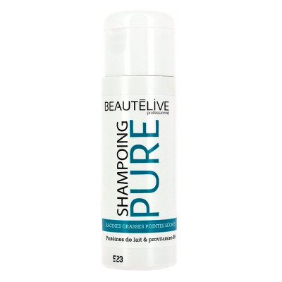 Shampoing réequilibrant - 35ml - Beautélive Expert, Pure - Gras