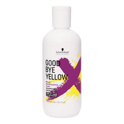 Shampoing déjaunisseur sans sulfates Goodbye Yellow - 300ml - Blonds et décolorés, Gris/blancs