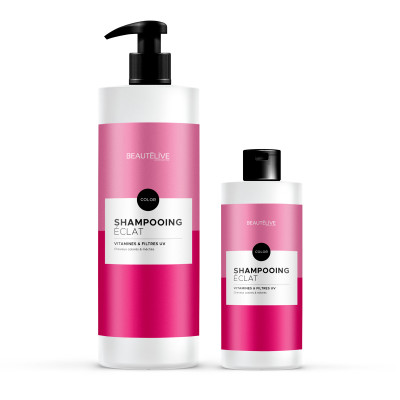 Shampoing prolongateur de couleur - 450ml - Beautélive Expert, Color - Colorés