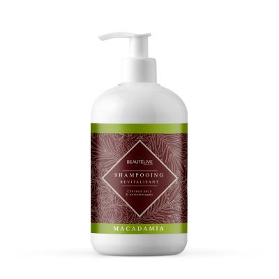 Shampoing huile de macadamia - 470ml - Macadamia - Secs et déshydratés