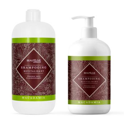 Shampoing Huile de Macadamia - 470ml - Macadamia - Secs et abîmés