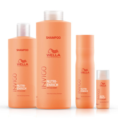 Shampoing Nutri Enrich - 250ml - Invigo - Secs et abîmés