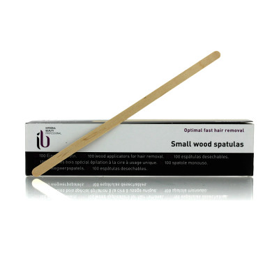 Spatule épilation bois fine 138x5mm x100