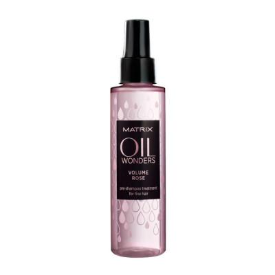 Pré-shampoing renforçateur - 125ml - Oil Wonders Rose - Fins