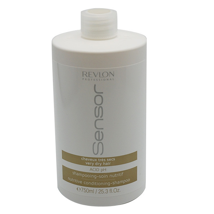 shampoing cheveux tr s secs sensor 750ml revlon gouiran beaut particulier. Black Bedroom Furniture Sets. Home Design Ideas