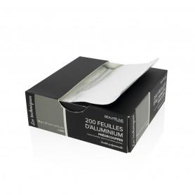 Feuilles d'aluminium prédécoupées 127x273mm x200