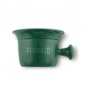 Bol de Rasage Plastique Vert Proraso