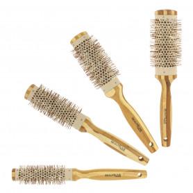 Brosse brush avec manche en bambou