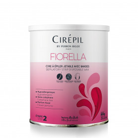 Cire épilatoire liposoluble en pot Fiorella