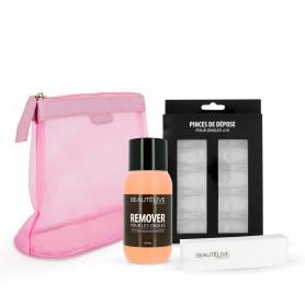 Kit de dépose semi-permanent 3 produits Beautélive
