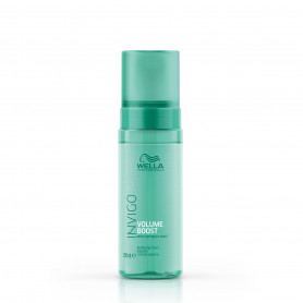 Mousse épaississante Volume Boost - 145ml - Invigo - Fins et Plats