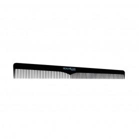Peigne de coupe Biais Carbone noir 18,2cm Beautélive