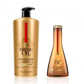 Shampoing aux huiles précieuses cheveux épais - Mythic Oil
