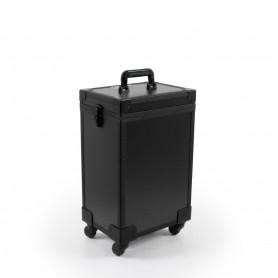 Valise professionnelle noire 4 roues BRATISLAVA Beautélive